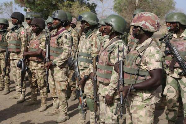 Nigerian Army rescue abducted Yobe schoolgirls inside bush