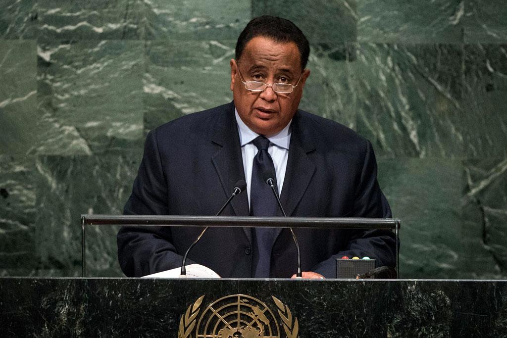 SUDAN H.E. lbrahim Ahman 'Abd al-Aziz GHANDOUR Minister for Foreign Affairs